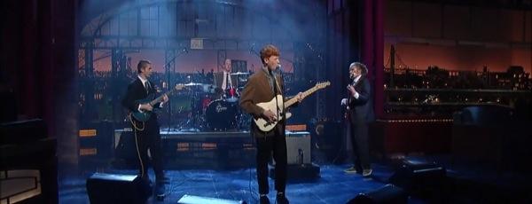 King Krule - Easy Easy (Letterman)
