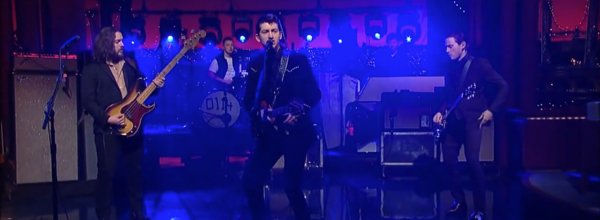 Arctic Monkeys Do I Wanna Know Letterman