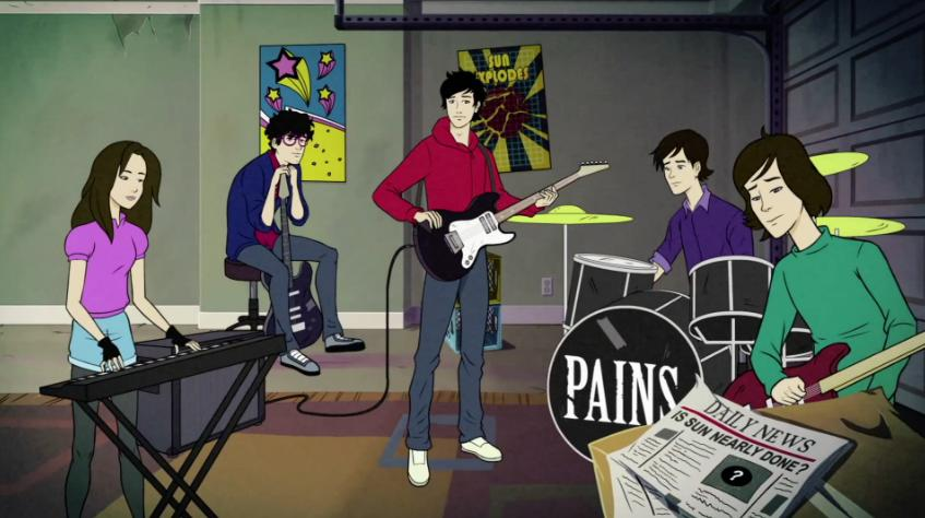 [music video]- The Pains Of Being Pure At Heart - Until The Sun Explodes