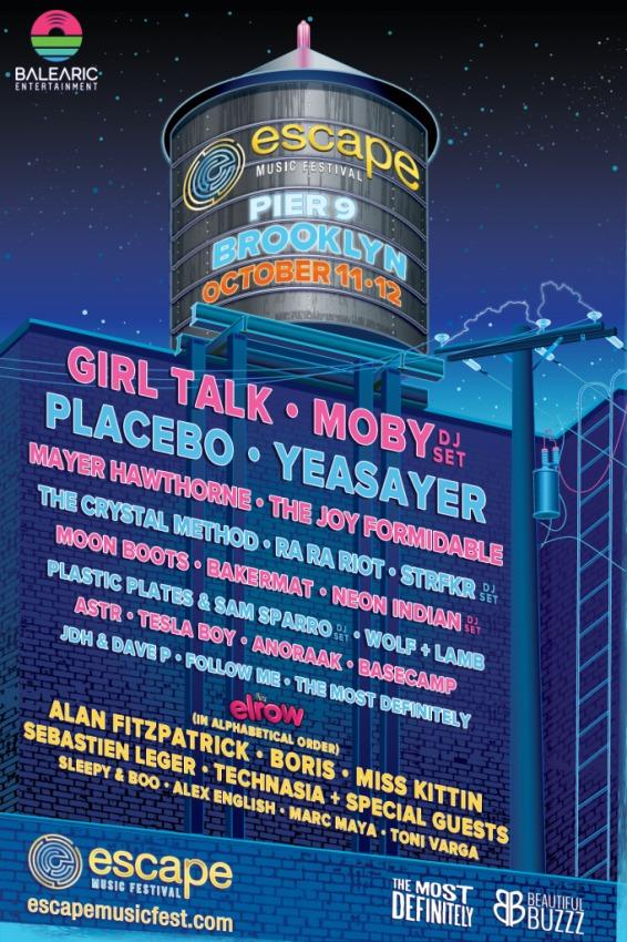 Escape Music Festival 2014