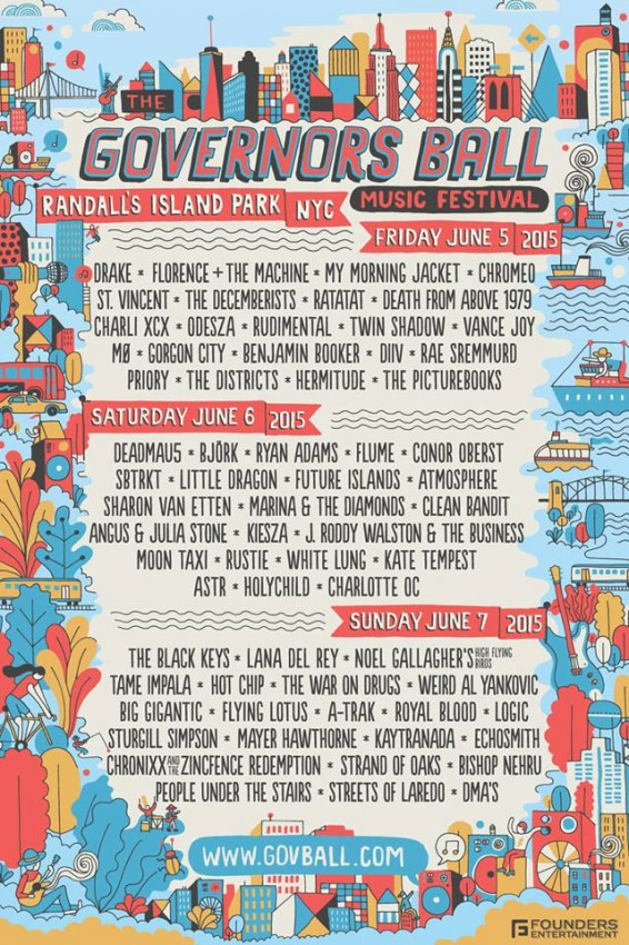 Governors Ball Single Day