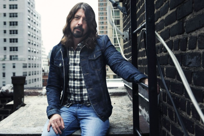 AP DAVE GROHL PORTRAIT SESSION A ENT USA NY