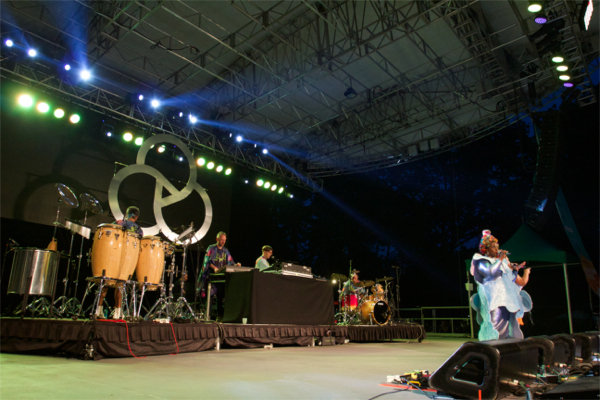 basement jaxx at summerstage nyc july 1 2015 at we all want someone