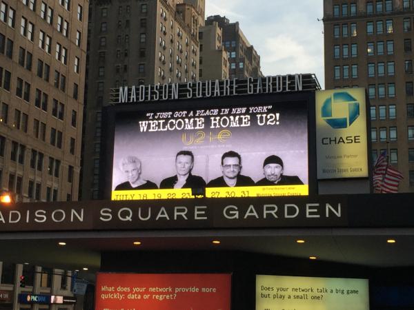 3_u2_madison square garden - U2 At Madison Square Garden