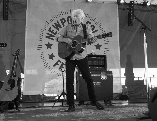 3_Graham Nash_Newport Folk Festival