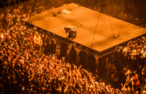 Kanye West At Madison Square Garden September 5 2016 We All Want Someone To Shout For At We