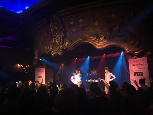 Lizzo at The Cutting Room (November 30, 2017) - We All Want ...