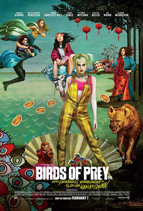 Birds of Prey final one-sheet poster